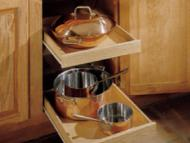 Kitchen Kompact Custom Touches: Base Roll-Out Trays
