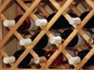 Kitchen Kompact Custom Touches: Accessory Match Lattice Wine Rack