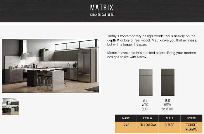 cnc frameless matrix