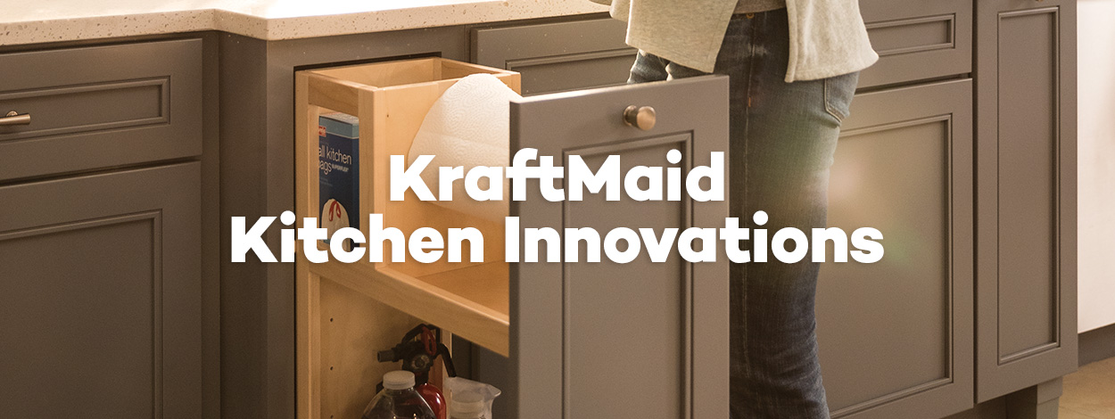 KraftMaid Kitchen Innovations